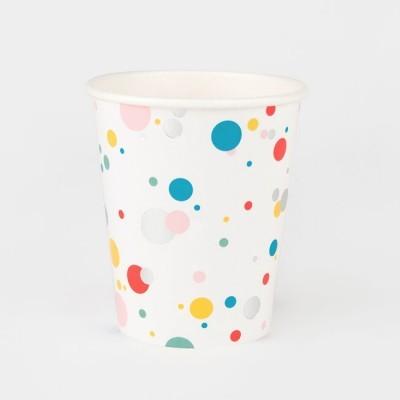 Copos Confetis Coloridos