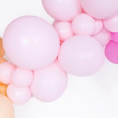 Balão Rosa Claro Pastel 12cm