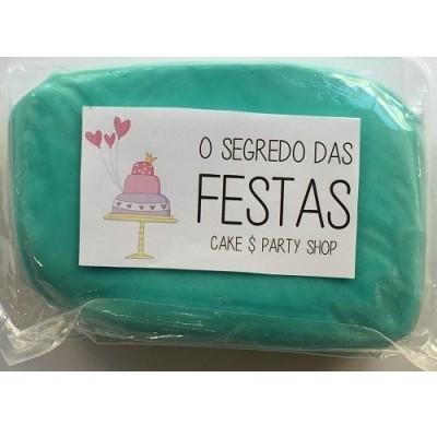 Pasta de Açúcar Azul Céu