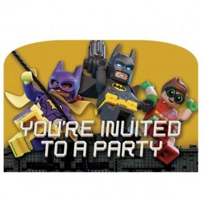 Convites Lego Batman