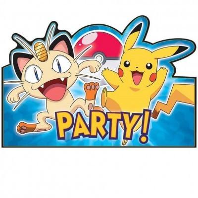 Convites Pokémon