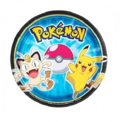 Pratos Pokémon Pequenos