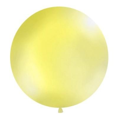 Balão Amarelo Claro 90cm Gigante