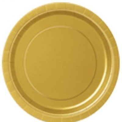 Pratos Dourado Grandes