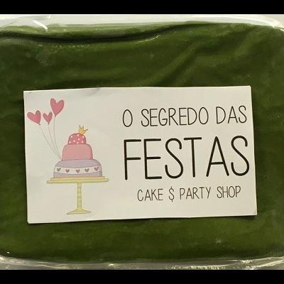 Pasta de Açúcar Verde Folha