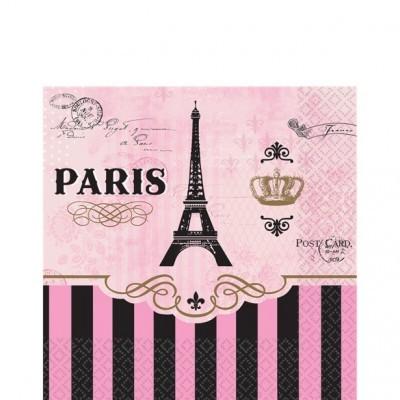 Guardanapos Festa Paris Pequenos