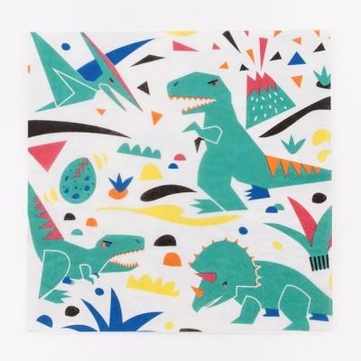 Guardanapos Dinossauros