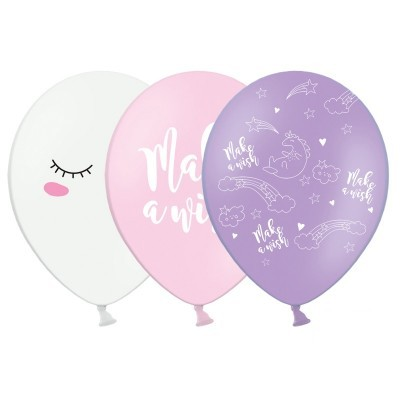 Conj. 6 Balões Unicórnio