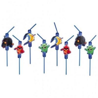 Palhinhas Angry Birds