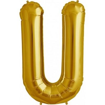 Balão U Dourado
