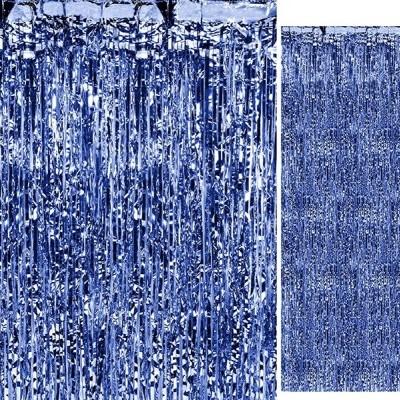Fundo Cortina Azul