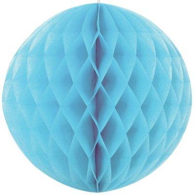 Bola de Papel Azul Claro