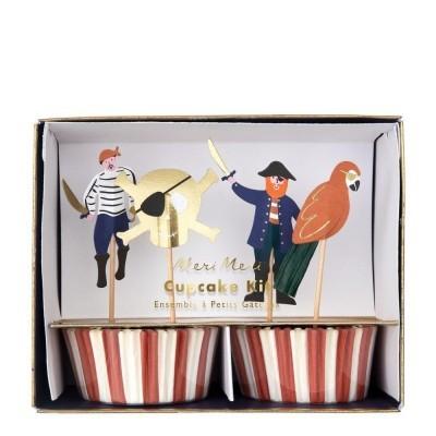 Kit Cupcakes Piratas