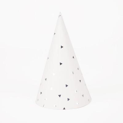 Chapéus Prateados Triângulos