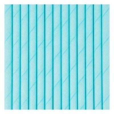 Palhinhas Azul Claro Lisas  -  Conj. 10