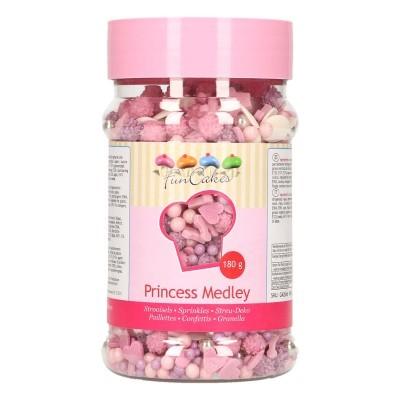 Confetis Açúcar Mistura Princesas