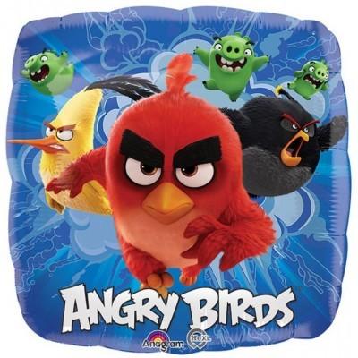 Balão Angry Birds Quadrado
