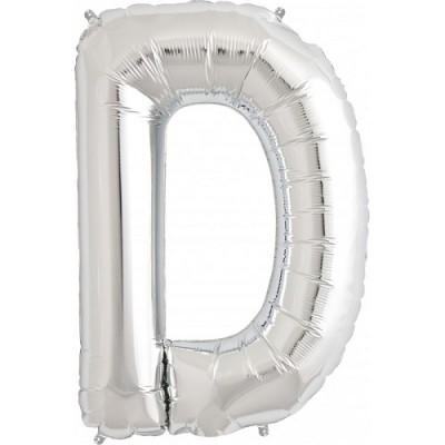 Balão D Prateado