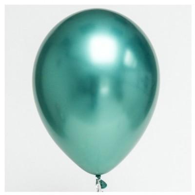 Balão Cromado Verde 30cm