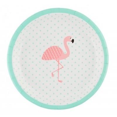 Pratos Flamingo