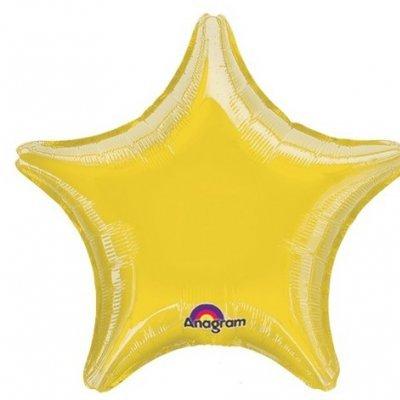 Balão Estrela Dourado