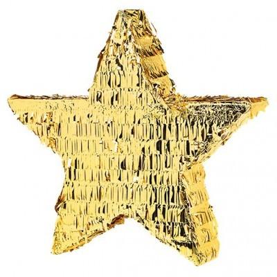 Pinhata 3D Estrela Dourada