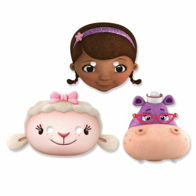 Máscaras Dra. Brinquedos e Amigos