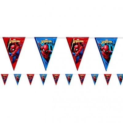 Bandeirolas Homem-Aranha