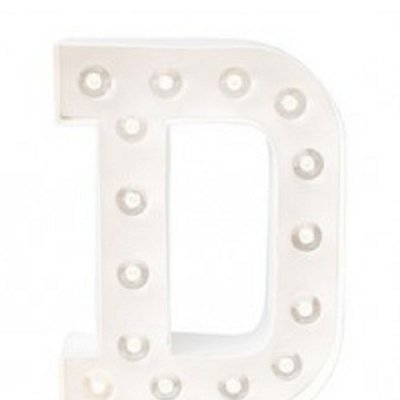 Letra Luminosa D