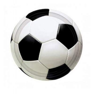 Pratos Futebol Pequenos