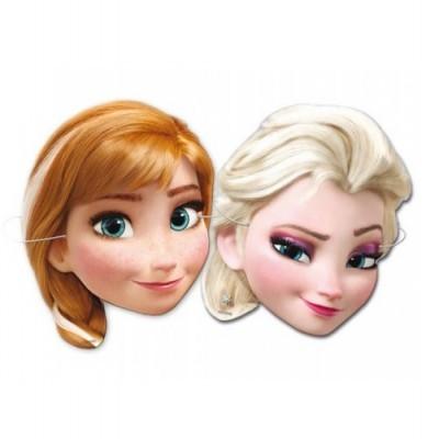 Conj. 6 Máscaras Frozen