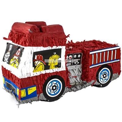 Pinhata 3D Carro Bombeiros
