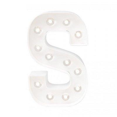 Letra Luminosa S