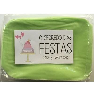 Pasta de Açúcar Verde Pastel