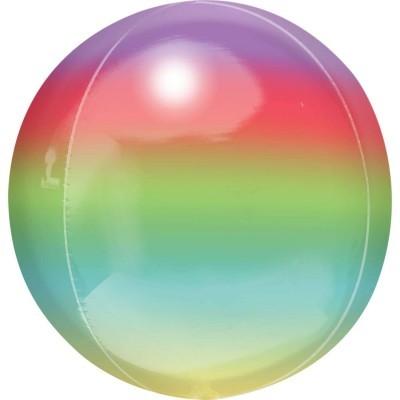 Balão Orbz Ombre Rainbow