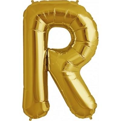 Balão R Dourado
