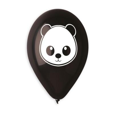 Balão Panda Preto