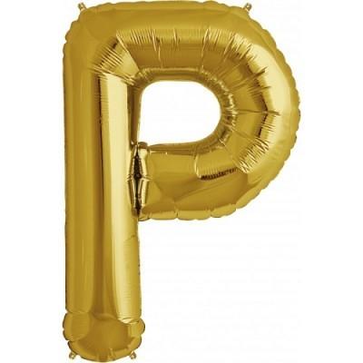 Balão P Dourado