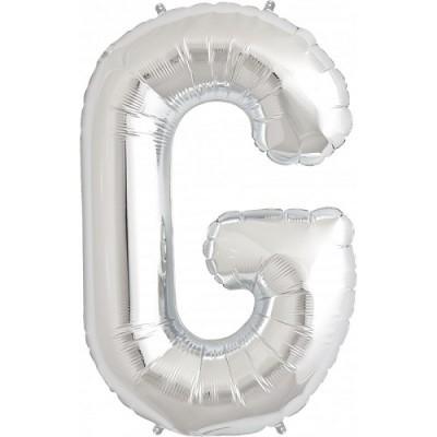 Balão G Prateado