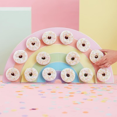 Expositor Donuts Arco-Íris