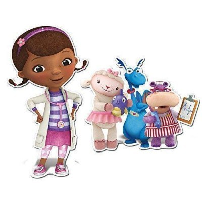 Conj. 2 Figuras Dra. Brinquedos