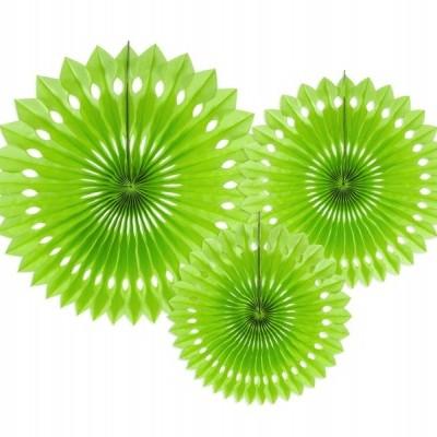 Rosetas Verde Alface Conj. 3