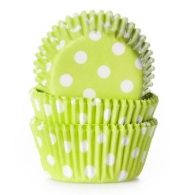 Formas Verde Lima Bolinhas Mini