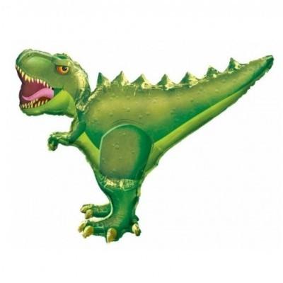 Dinossauro Verde Balão Gigante