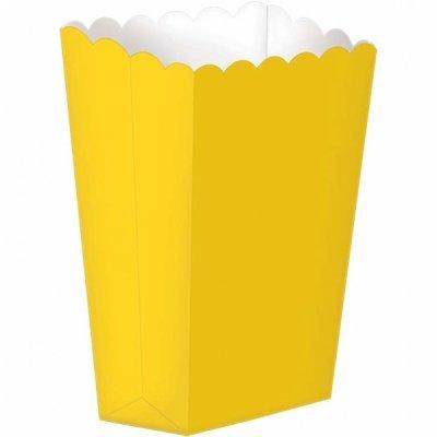Pacote Pipocas Liso Amarelo