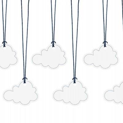 Etiquetas Nuvens Com Fio