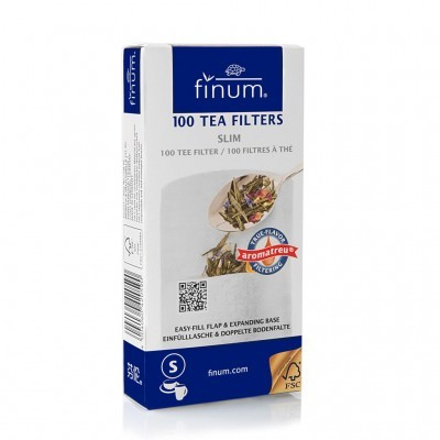 Filtros para chá/infusão (loose leaf tea) - Finum®