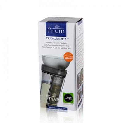 Copo infusor para tisanas - TRAVELER ZITA™ - Finum®