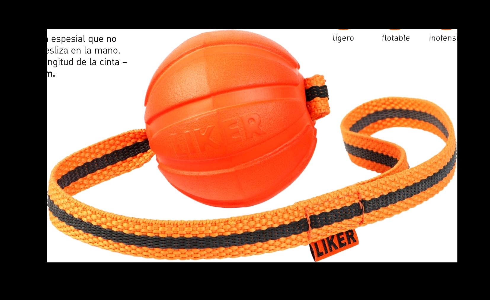 Liker Line - bola com fita