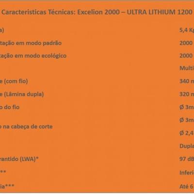 EXCELION 2000 - ULTRA LITHIUM 1200
